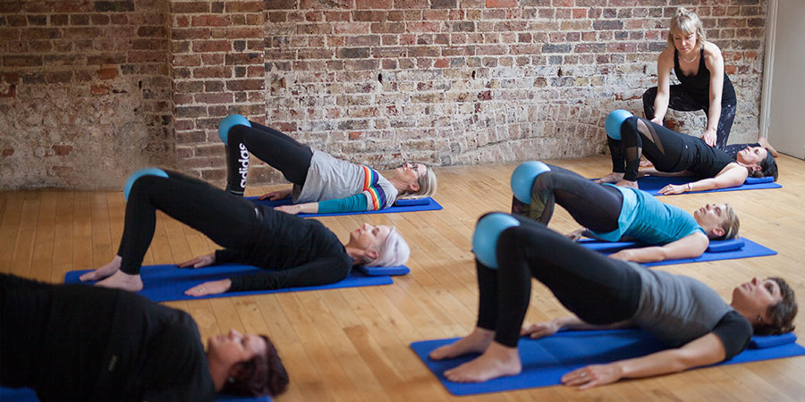 The jackknife pilates excercise